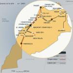 carte train maroc