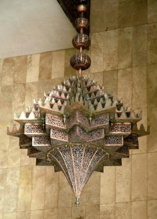 intérieur mosquée hassan 2