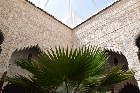 Patio du riad Azahra