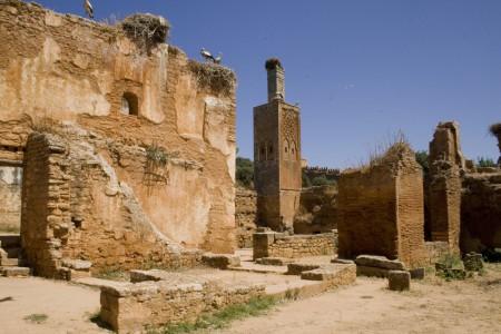 Ruines du Chellah à Rabat