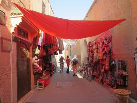 Ruelle de la médina de Marrakech